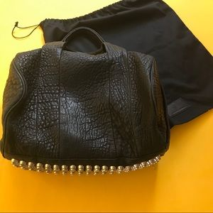 Alexander Wang Rocco silver studded bag